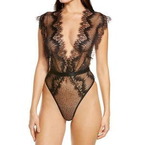 NEW Ann Summers The Bliss Eyelash Lace Bodysuit